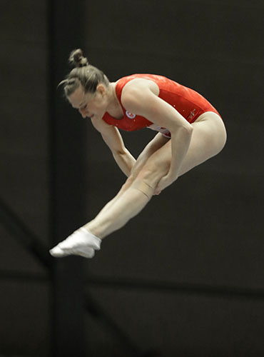 MacLennan captures gold at Trampoline World Cup in Switzerland