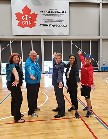 Gymnastics Canada Announces Markham Pan Am Centre as  New National Team Training Centre for Rhythmic Gymnastics