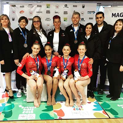 Double silver for Canada on day one of artistic Jr. Pan American Championships