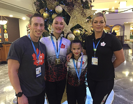 Canadian Acrobatic Gymnastics team takes home 22 medals from Pan American Championships