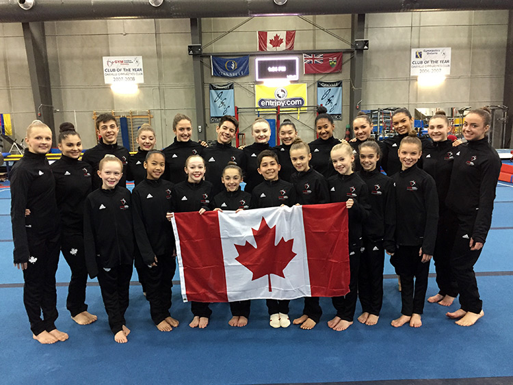 Gymnastics Canada Announces Acrobatic Gymnastics team for 2017 Pan American Championships