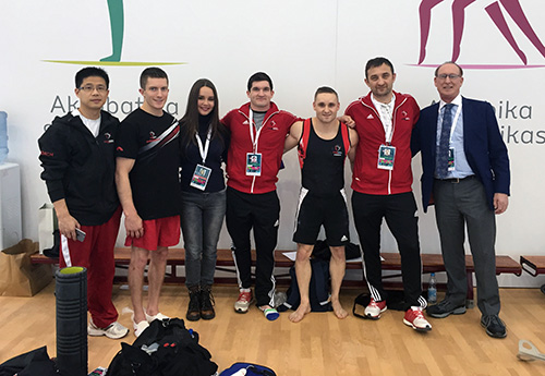 Morgan, Lytwyn, Payne post strong showing at World Challenge Cup in Azerbaijan