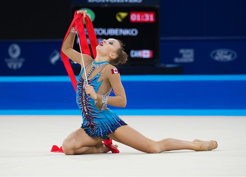 Bezzoubenko 23rd at season opening rhythmic gymnastics World Cup