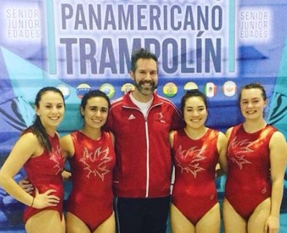 Continued Success for Team Canada at the Pan American Trampoline Championships