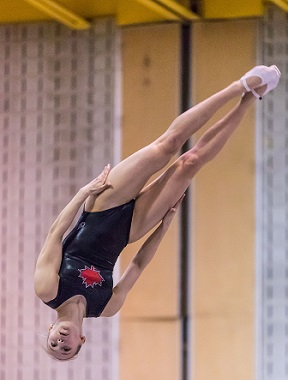 Three Canadians Crowned in Trampoline