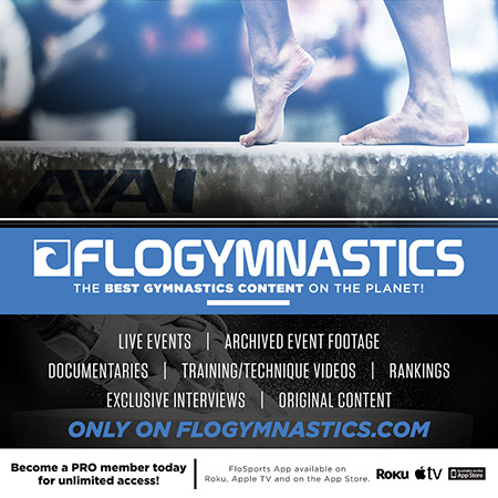 Gymnastics Canada announces partnership with FloSports