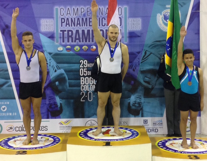Seven Gold Medals on Final Day at 2016 Pan American Trampoline Championships
