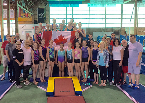 Junior & Youth Women's Artistic Gymnastics National Team Members Announced