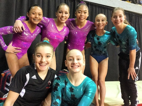 Canadian juniors win team bronze at L'International Gymnix in Montreal
