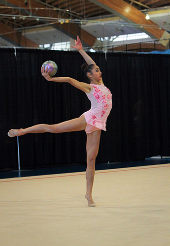 Uchida, Whelan tops at Elite Canada rhythmic gymnastics competition