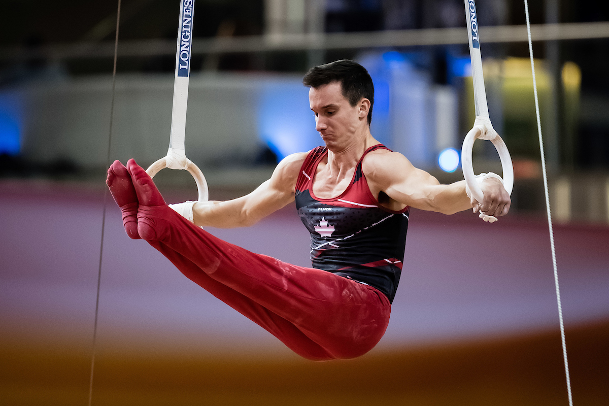 Tyndall and Clay highlight 2021 Men's Artistic Gymnastics Virtual Elite Canada
