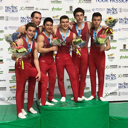 Canadian gymnasts capture multiple medals on first day of Pacific Rim Championships