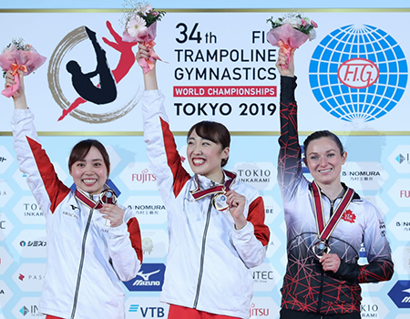 MacLennan captures bronze in women's trampoline to close out 2019 World Championships