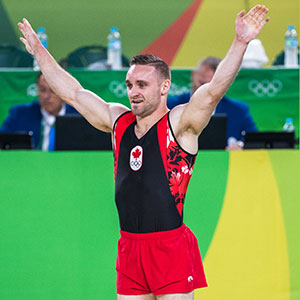 Scott Morgan kicks off Olympic gymnastics competition in Rio