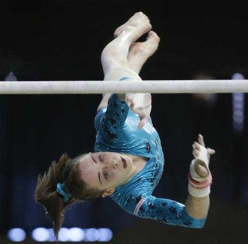 Canadian gymnasts win six medals at L'International Gymnix in Montreal