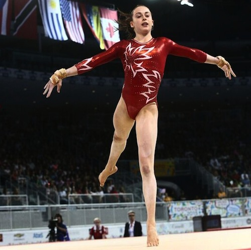 Onyshko leads Canada to silver medal at L'International Gymnix in Montreal