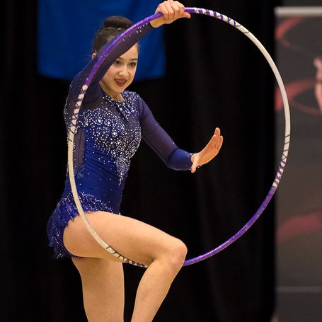 Crane and Vivier Top Field on Day Two at the 2018 Elite Canada Rhythmic