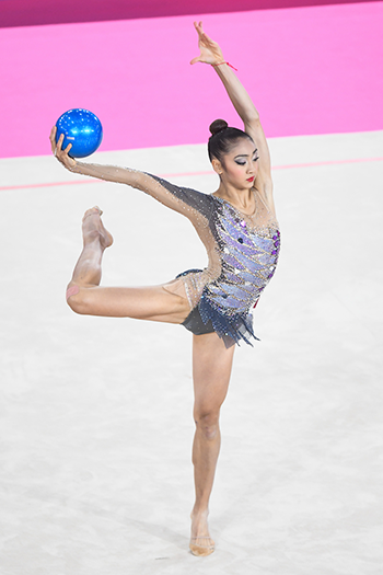 Uchida scores personal best for strong start at 2019 Rhythmic World Championships