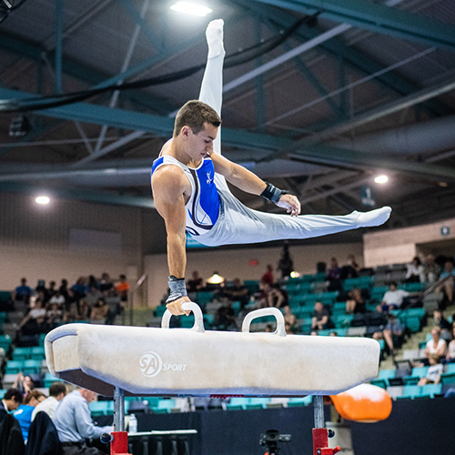 Cournoyer captures first Canadian all-around senior title at 2018 Canadian Championships in Artistic Gymnastics