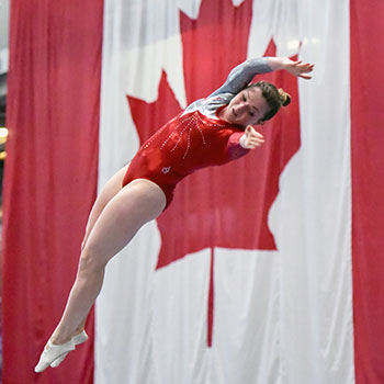 MacLennan tops standings on Day 2 of Canadian Championships in Trampoline Gymnastics