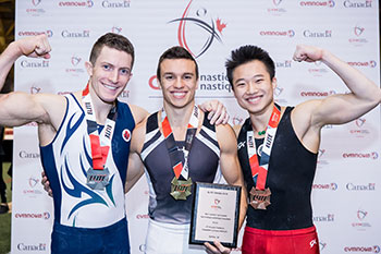 Moors and Cournoyer take Senior All-Around Titles at Elite Canada Artistic