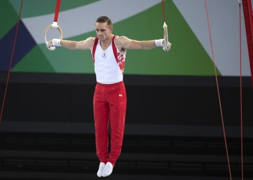 Scott Morgan top Canadian at International Collegiate Challenge gymnastics competition
