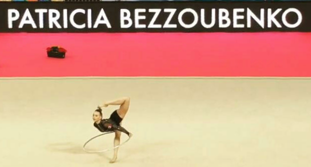 Bezzoubenko and Huh compete at Rhythmic Gymnastic World Cup in Spain