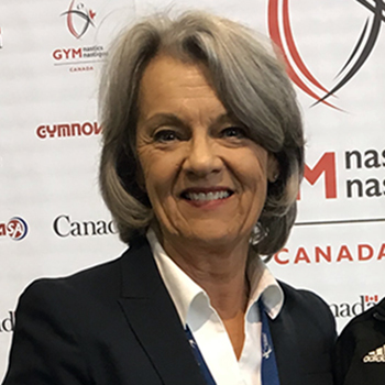 Dr. Lynn Smith elected new Chair of the Board of Directors for Gymnastics Canada