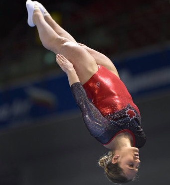Canadian women flying high on day one of the Trampoline Gymnastics World Championships