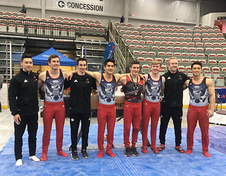 Team Canada edged by the USA at UCIC men's gymnastics competition in Calgary