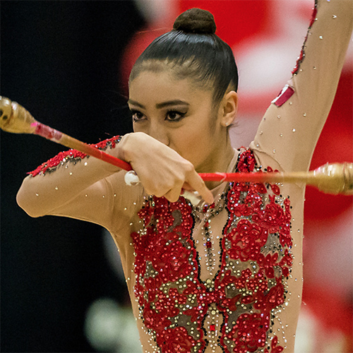 Canadian Rhythmic Gymnasts Compete at Sofia World Cup