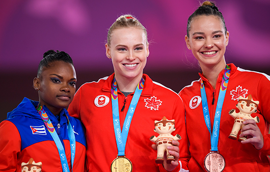 Black and Olsen share vault podium at 2019 Pan American Games
