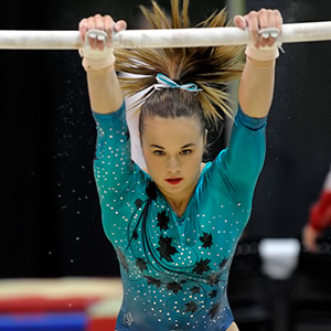 Woo and Cournoyer compete in artistic gymnastics Swiss Cup