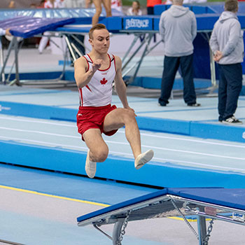 Canada qualifies for more double mini-trampoline finals at 2018 Trampoline Gymnastics World Age Group Competitions