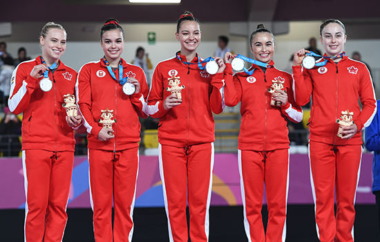 Canadian women's artistic team captures team silver at 2019 Pan Am Games