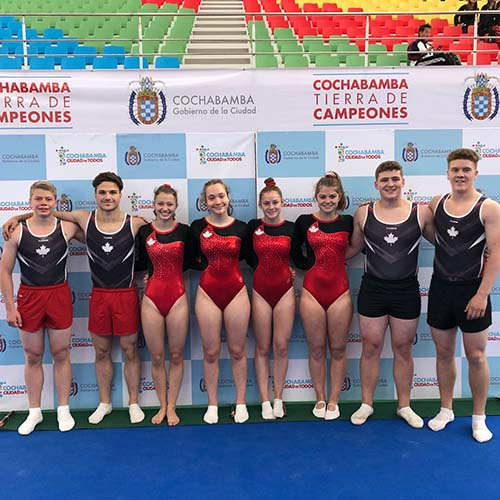 Canada finishes Jr Pan Am Trampoline Championships with seven medals including three gold