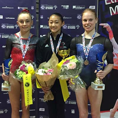 Canada captures four medals at Elite gym Massilia