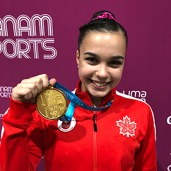 Moors wins gold on floor while Black captures 5th medal to close out artistic gymnastics competition at the 2019 Pan American Games