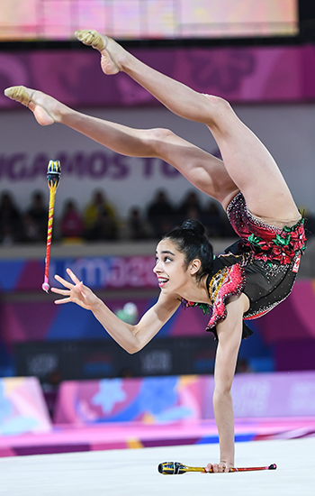 Garcia captures silver in clubs to close out Pan Am Games rhythmic competition