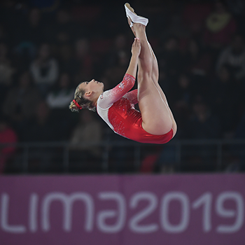 Chartier, Milette, and Smith qualify for trampoline finals at 2019 Pan Am Games