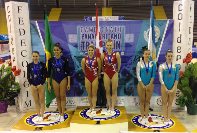 Golden First Day at 2016 Senior Pan American Trampoline Championships