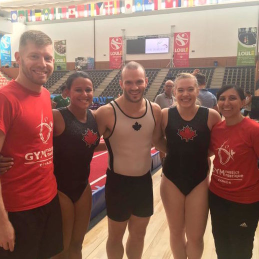 Strong results for Canadian gymnasts at Portugal World Cup