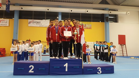 Gold for Canadian men at Olympic Hopes Cup