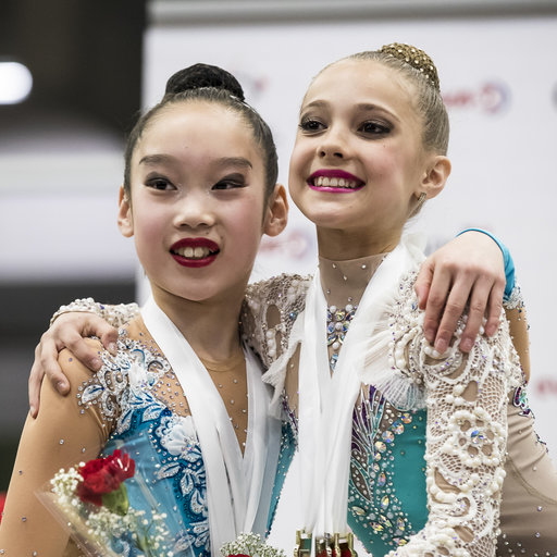 Open & Novice Champions crowned at the Canadian Championships in Rhythmic Gymnastics