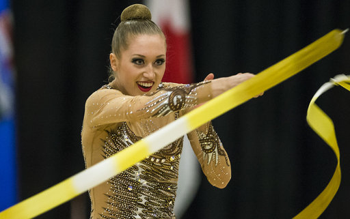 Whelan captures first ever Canadian rhythmic gymnastics title