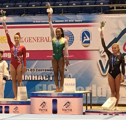 Two silver medals for Olsen at World Challenge Cup in Bulgaria