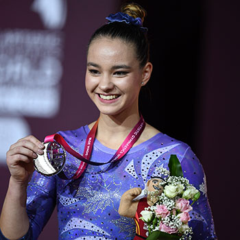 Shallon Olsen captures silver on vault at 2018 Artistic Gymnastics World Championships