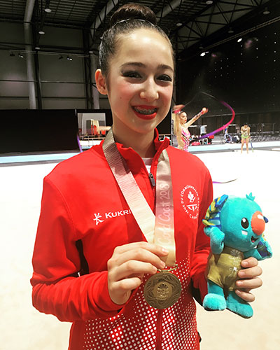 Crane wins gold on final day of gymnastics competition at 2018 Commonwealth Games