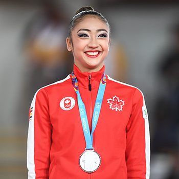 Uchida captures two silver medals on first day of rhythmic apparatus finals at 2019 Pan Am Games