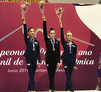 Canadian rhythmic gymnasts capture seven medals at 2019 Junior Pan Am Championships